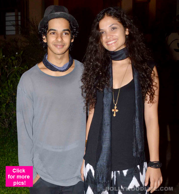 Is Shahid Kapoor's younger brother dating Black actress Ayesha Kapur?