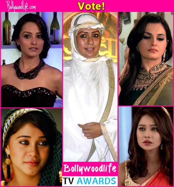BollywoodLife TV awards: Yeh Hai Mohabbatein's Shagun, Qubool Hai's Tanveer, Kumkum Bhagya's Tanu, who is your favourite TV vamp? Vote!