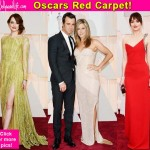 Oscars 2015: Emma Stone, Jennifer Aniston-Justin Theroux, Dakota Johnson and more at the red carpet- view pics!