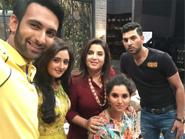 Farah Ki Daawat: Sania Mirza and Yuvraj Singh show off their culinary skills!