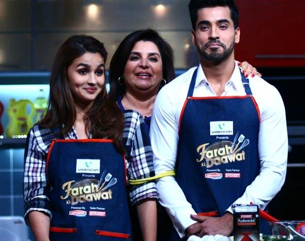 Farah Ki Daawat: Alia Bhatt and Gautam Gulati bond over a cooking session!