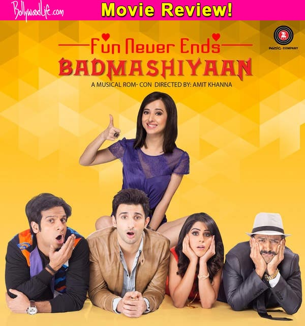 Badmashiyaan movie review: Even Sharib Hashmi's impeccable comic timing can't salvage this film!