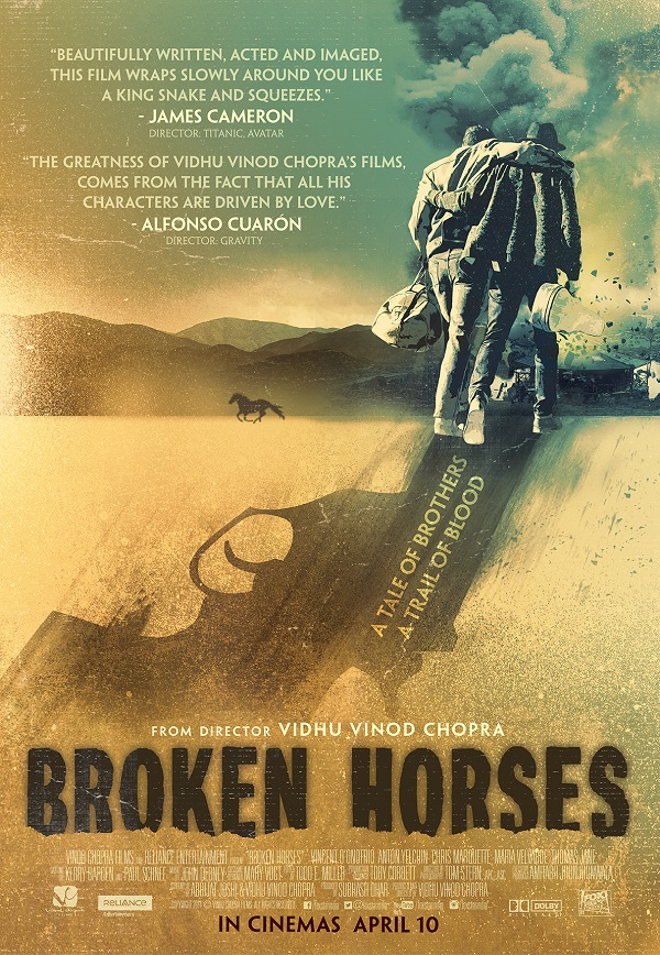 Vidhu Vinod Chopra's Hollywood venture Broken Horses to be released globally as a novel!