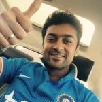 Suriya bleeds blue; cheers for India in World Cup semifinal against Australia!