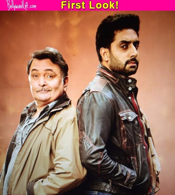 all is well first look grumpy abhishek bachchan and smirking rishi kapoor make an unusual pair. Black Bedroom Furniture Sets. Home Design Ideas