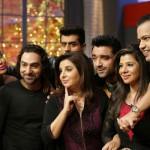 Bigg Boss contestants Rahul Mahajan, Sambhavana Seth, Diandra Soares, Pritam Singh attend Farah Ki Daawat!