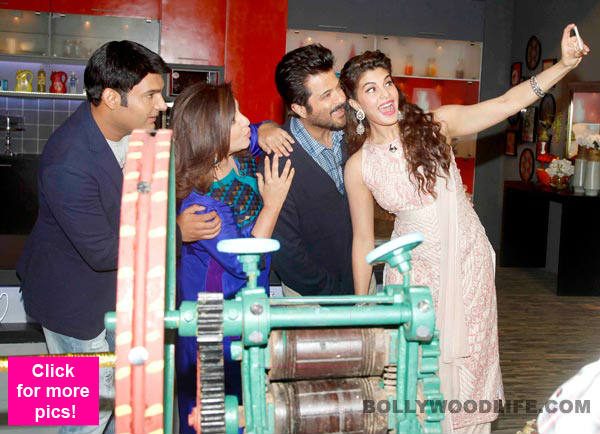 Anil Kapoor, Jacqueline Fernandez and Kapil Sharma on Farah Ki Daawat – View pics!