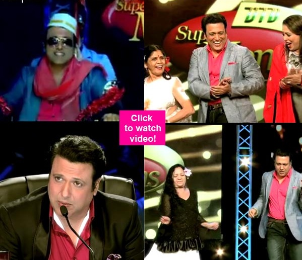 Dance India Dance Super Moms Season 2 first episode review: Govinda comes back to TV; makes a grand entry as dancing judge