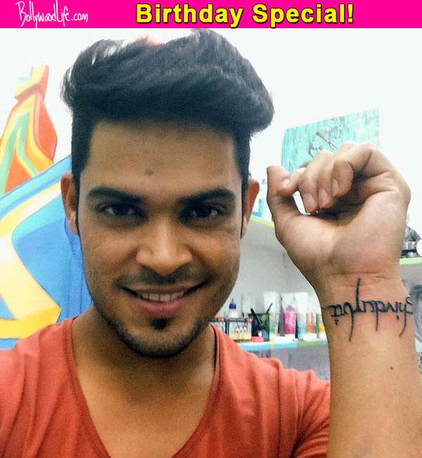 Kunwar Amar gets inked on his birthday