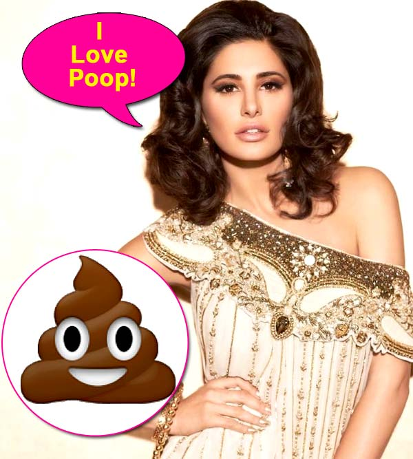 Did you know: Nargis Fakhri loves her poop very much!