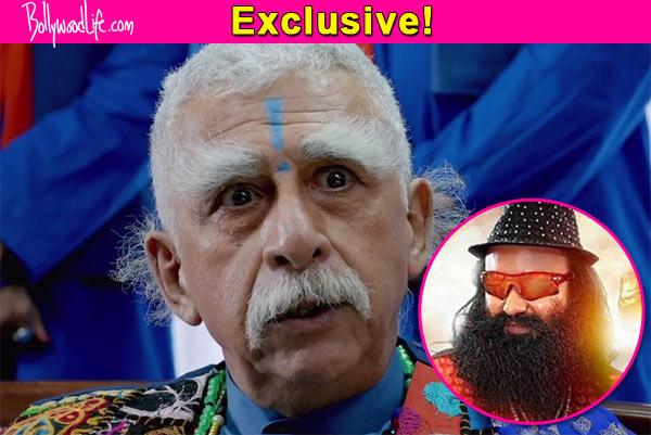 Naseeruddin Shah's character in Dharam Sankat Mein inspired by Saint Gurmeet Ram Rahim Singh Ji Insaan?