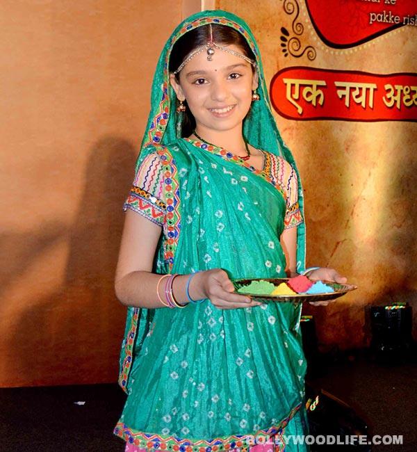 Balika Vadhu's new find Gracy Goswami aka Nimboli rushes to Bhopal for her Maths exam