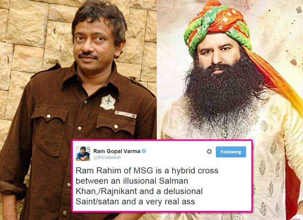 RGV on Gurmeet Ram Rahim