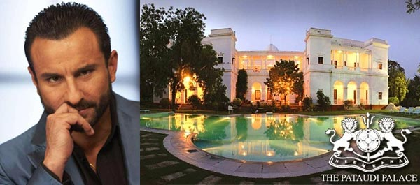 Pictures of house of saif ali khan