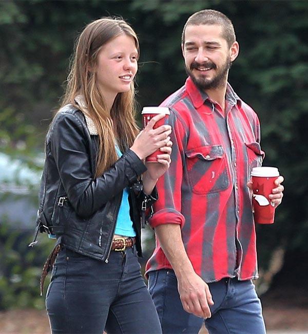 Shia LaBeouf engaged to girlfriend Mia Goth?