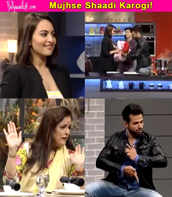 When Rithvik Dhanjani proposed marriage to Sonakshi Sinha – watch video!