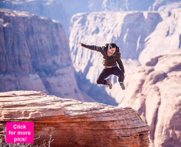 Varun Dhawan pulls off death defying stunts at Grand Canyon for ABCD 2 – view pics!