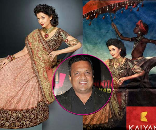 Sanjay Gupta comes out in support of Aishwarya Rai Bachchan on the controversial jewellery ad!