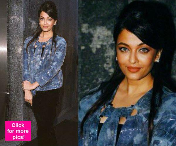 Aishwarya Rai Bachchan dazzles at the Giorgio Armani party- view pics!