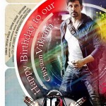 First look of Vikram's 10 Enrathukkulla out on his birthday!