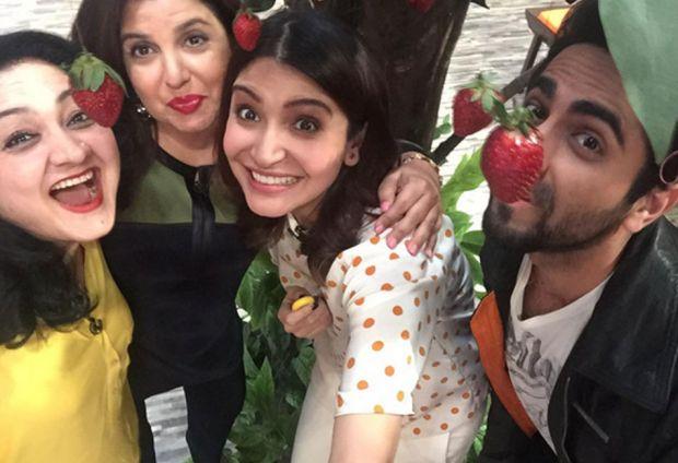 Farah Ki Daawat: Ayushmann Khurrana calls Deepika Padukone the spiciest actress and Anushka Sharma the namkeen one!