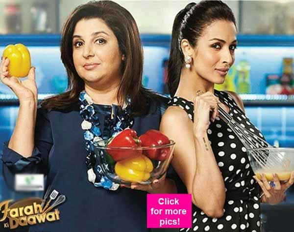 Malaika Arora Khan cooks sizzling Bollywood recipes on Farah Ki Daawat!
