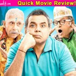 Dharam Sankat Mein quick movie review: Paresh Rawal's religious satire is funny but only in bits