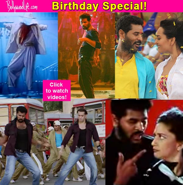 Prabhu Dheva's 5 best dance numbers from Bollywood – watch videos!