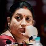 Shocking! Smriti Irani finds a spy camera in her changing room in Goa!