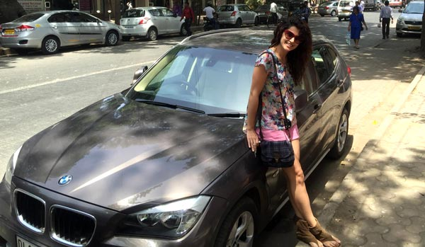 taapsee pannu gifts herself a bmw view pics