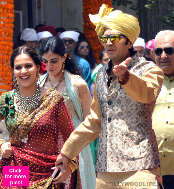 Genelia DSouzas Brother And Riteish Deshmukhs In Law Tied The Knot At A Grand Wedding Ceremony