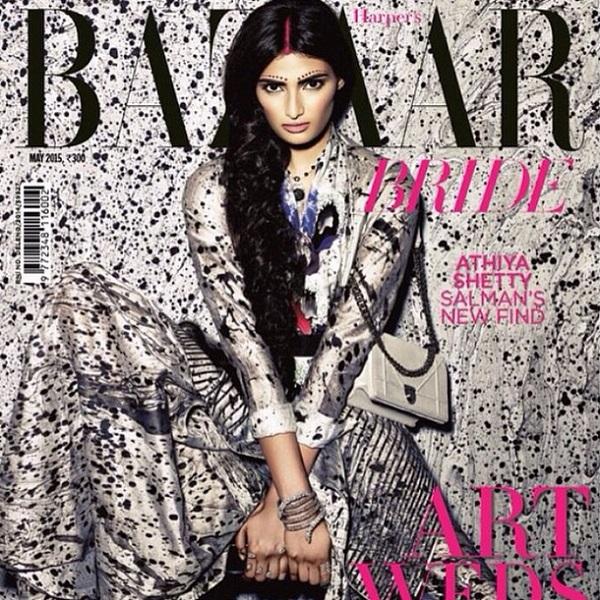 Salman Khan's protégé Suraj Pancholi's co-star Athiya Shetty does her first magazine cover!