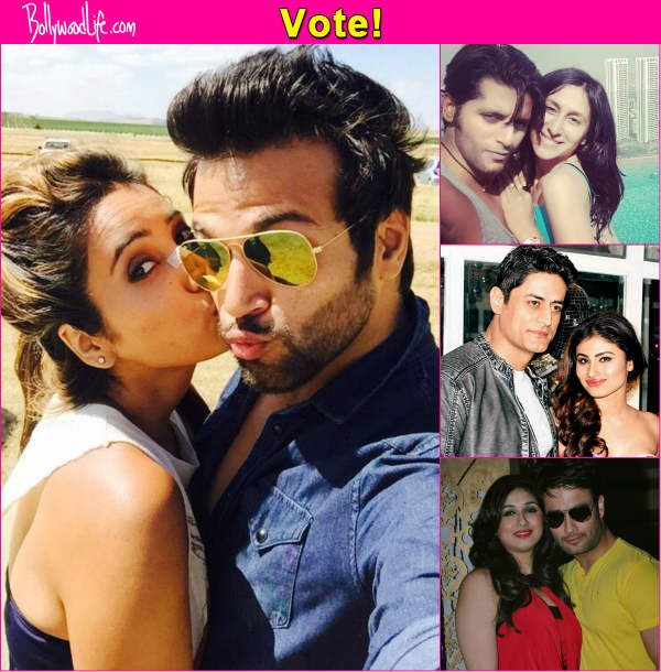 Karanvir Bohra-Teejay Sidhu, Rithvik Dhanjani-Asha Negi, Vivian DSena-Vahbiz Dorabjee or Mohit Raina-Mouni Roy – Who is your favourite real life couple? Vote!