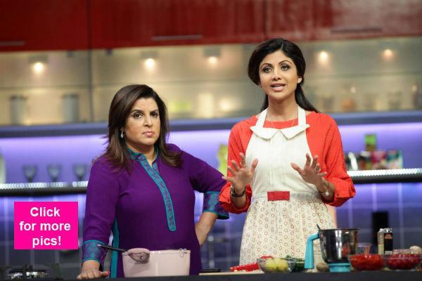 Shilpa Shetty reveals that she is a BIG foodie on Farah Ki Daawat!