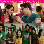 Kaisi Yeh Yaariyan's Parth Samthaan and Krissann Barretto shoot with Sunny Leone for Pyaar Tune Kya Kiya – View pics!