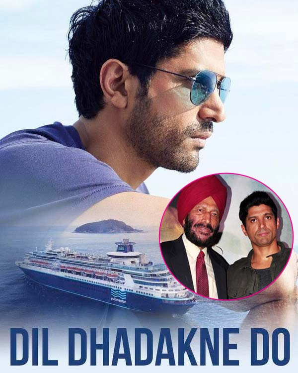 Milkha Singh eager to catch Farhan Aktar's new avatar in Dil Dhadakne Do!