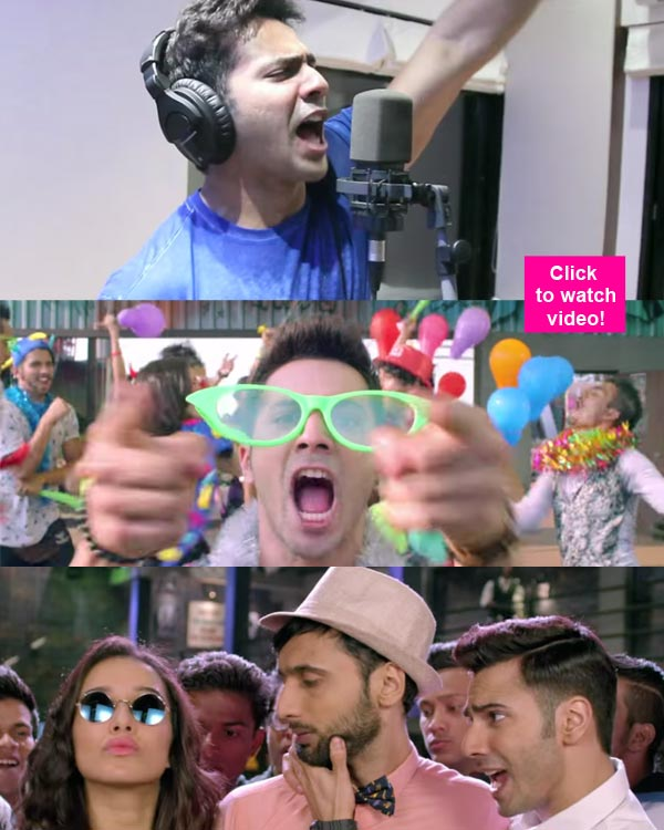Varun Dhawan Unveils ABCD 2 Song Happy B'day Exclusively