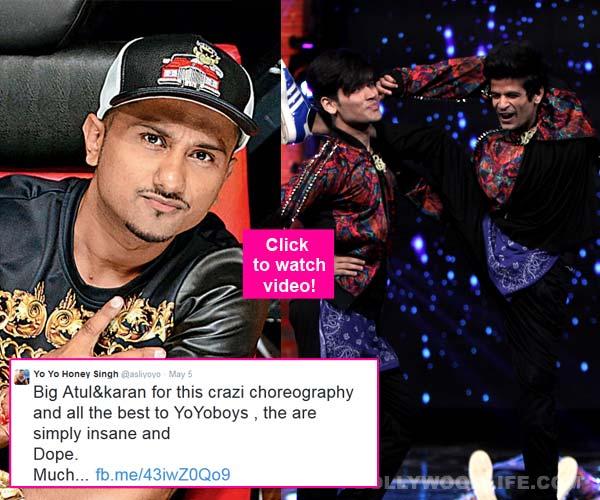 Have you seen this mind blowing dance by Yo Yo Honey Singh's Yo Yo Boys? Watch video!