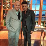 Manoj Bajpayee had a nice surprise on the Anupam Kher Show!