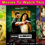 Movies to watch this week: Tanu Weds Manu Returns, Welcome To Karachi and Main Hoon (Part-Time) Killer