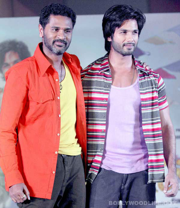 Shahid Kapoor and Prabhu Dheva to team up for Ekta Kapoor's action musical!