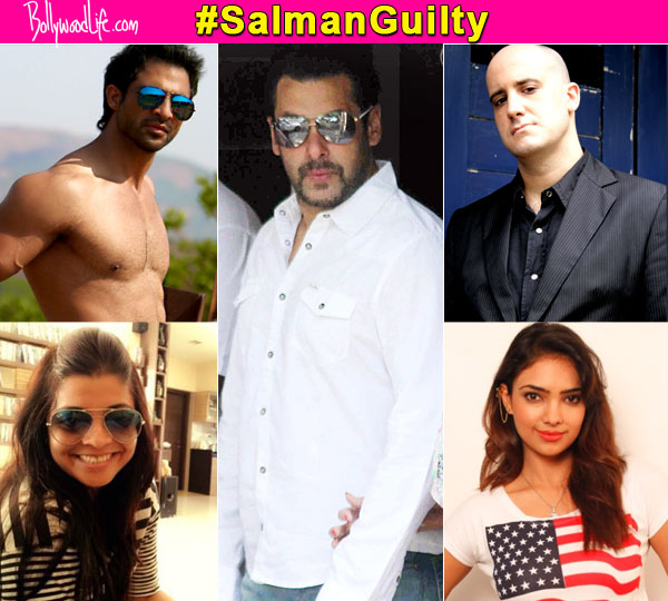 Salman Khan hit-and-run case: Ashwin Mushran, Pooja Banerjee, Mohammad Nazim and Nivedita Basu hail the verdict