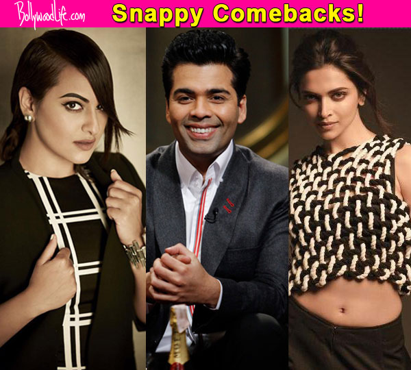 Sonakshi Sinha, Deepika Padukone, Karan Johar- 7 celebs who gave it back nice to their haters!