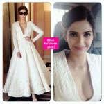 Sonam Kapoor wears a gorgeous Ashi Studio gown for Vikas Khanna's book launch at Cannes- view pics!