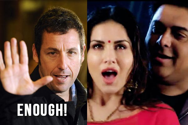 Did Sunny Leone compare Ram Kapoor with Adam Sandler?