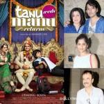 Rajkumar Hirani, Farah Khan, Gauri Shinde are sure Kangana Ranaut's Tanu Weds Manu Returns will be a winner!
