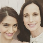 Pic of the Day: Sonam Kapoor clicks a selfie with Hollywood beauty Andie Macdowell at 68th Cannes Film Festival!