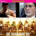 Farhan Akhtar-Amitabh Bachchan's Wazir teaser to come along with Priyanka Chopra-Ranveer Singh-Anushka Sharma's Dil Dhadakne Do!