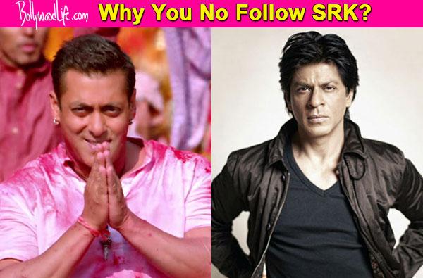 Exclusive: Salman Khan follows Shah Rukh Khan on Twitter; but SRK doesn't!