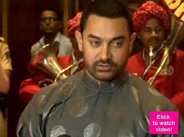 Aamir Khan's advice to Salman Khan: Don't take Twitter seriously-watch video!